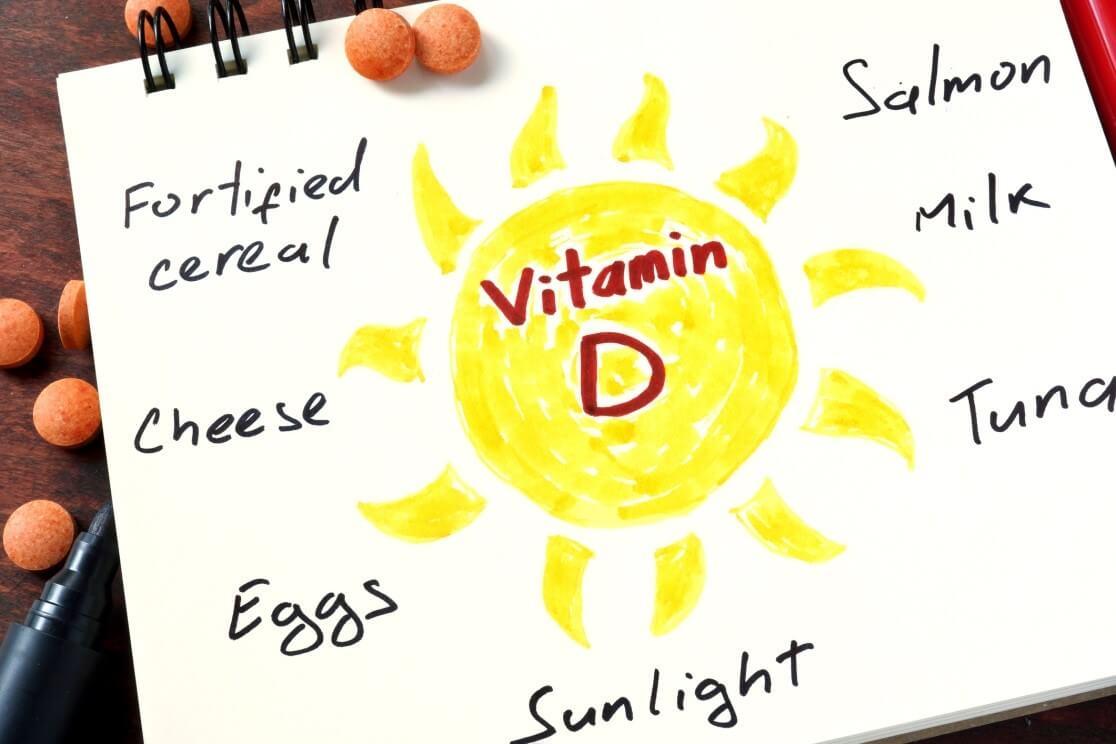 منابع مؤثر ویتامین D