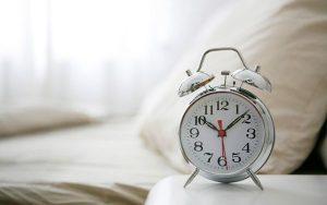 ساعت خواب را تنظیم کنیم