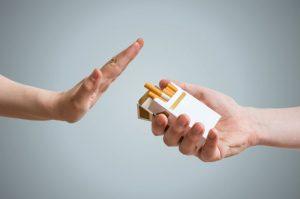 نه به سیگار