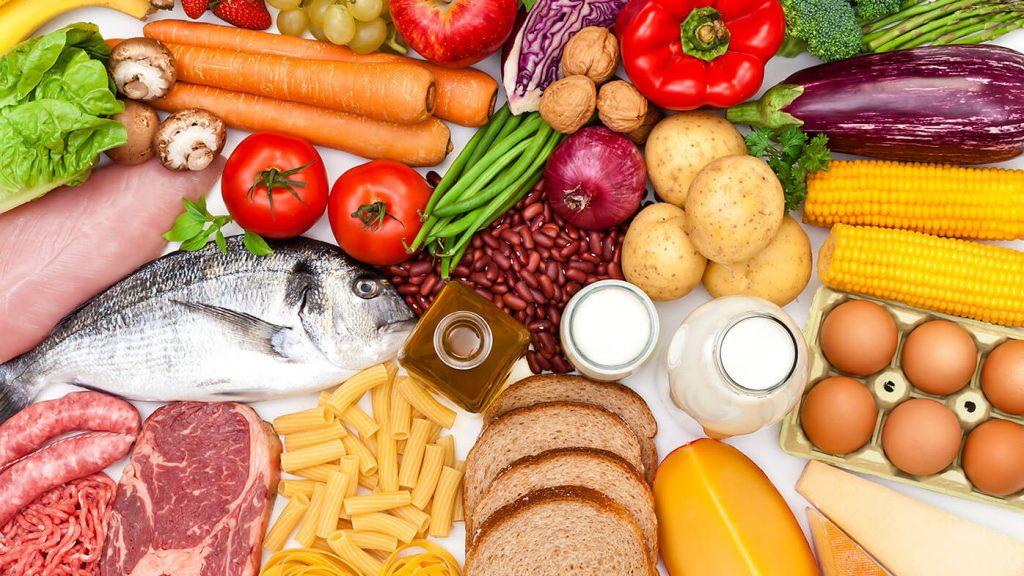 موادغذایی مناسب برای دوره درمان