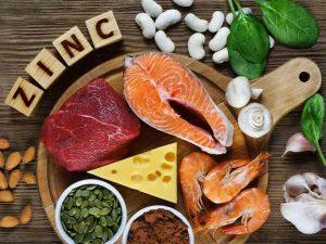 مواد غذایی حاوی روی یا زینک